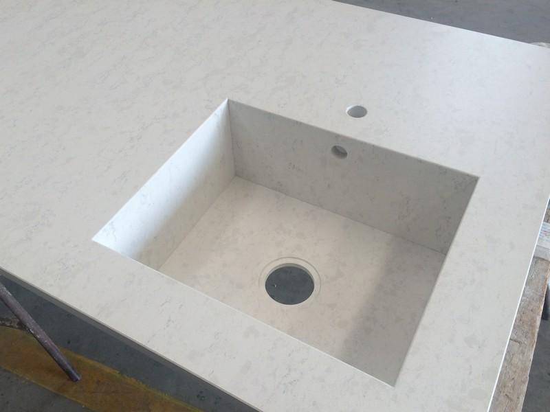 lavello silestone costruito